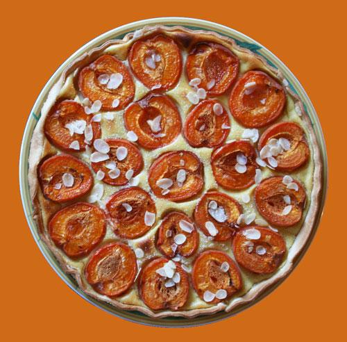 Tarte-aux-abricots