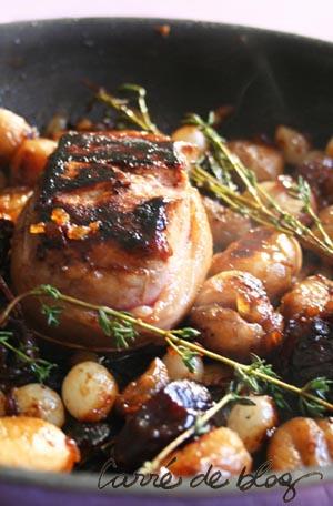 Tournedos de sanglier aux marrons et pruneaux - Comment cuisiner des cotes de sanglier ...
