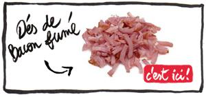 dés-de-bacon