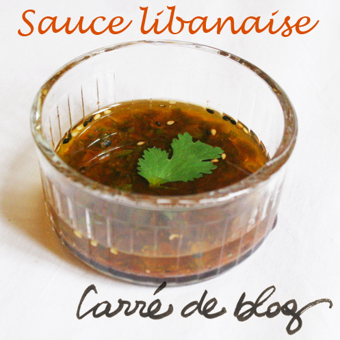 sauce libanaise FB