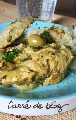 Poulet aux citrons confits - Cuisiner un poulet entier ...